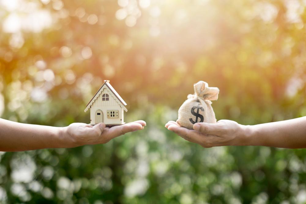 dividing home in divorce